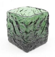 Ruda Glasbruk (Sweden) Dark Green Turkos Vase by Gote Augustsson 1960s (2)