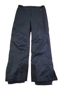Rei Girls Snowboard Pants Size Medium Black Waterproof Snow Ski Fleece Lined