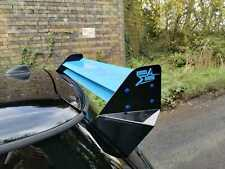 MINI COOPER S REAR WING SPOILER TWIN BLADE R50 R53 R56 FULLY CUSTOMISABLE!