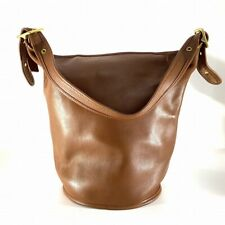 Coach Old shoulder bag brown leather DJ185-64