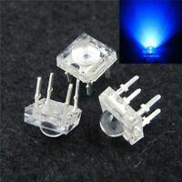 S391 - 20 Stück LED 5mm blau SuperFlux Piranha 120° LEDs