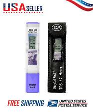 Professional Quality TDS EC & Temperature Water Test Meter Drinking & Aquariums
