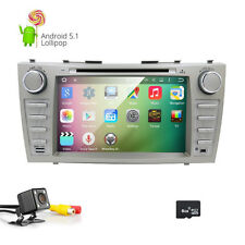 Lollipop Android 5.1 Car Stereo DVD Player GPS WiFi 3G for Toyota Camry Aurion E