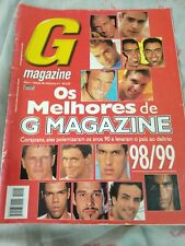 """the best of """"G magazine"""" gay, brazil 98-99 or  2004"""