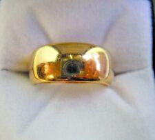 Rare Antique Samuel Hope 18 Carat Wedding Ring Size N-N1/2