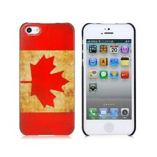 Canada Flag Retro iPhone 5 5S SE 5G Case Cover  For Apple