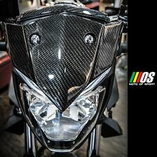 Mos Carbon Fiber Windshield Front Upper Cover for Yamaha Mt-03 Mt-25 2015-2019