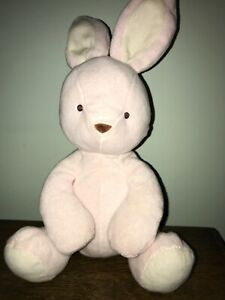 Marks And Spencer Pink Bunny Comforter/  Rattle Toy.