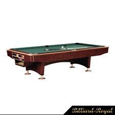 9 Ft. Pro Pool Pool Table Billiardtisch Billiards Model Gladiator Mahagoni