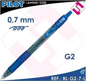 PILOT BL-G2-7-L AZUL 0,7 MM BOLIGRAFO TINTA GEL PIGMENTADA ROLLERS PROFESIONAL