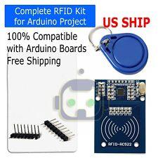 Rfid Rc522 Rf Ic Card Sensor Arduino Module With 2 Tags Mfrc522 Dc 33v Usa