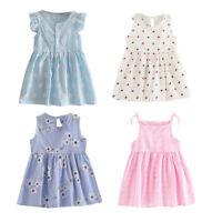 Toddler Girls Summer Princess Tutu Dress Baby Party Wedding Sleeveless Dress lot