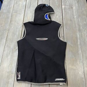 Henderson Dive wear sleeveless hooded suit 5/3 mm titanium hyper stretch Large