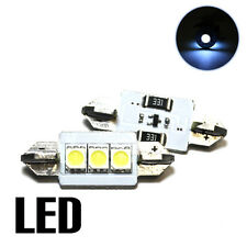 2x Audi A4 B8 2.0 Xenon White 3SMD LED Canbus Licence Number Plate Upgrade Bulbs