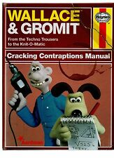 HAYNES WALLACE & GROMIT TECHNO TROUSERS CRACKING CONTRAPTIONS MANUAL 1ST HB 2010