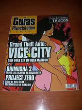 GUÍAS PLANETSTATION Nº12: GTA VICE CITY, ONIMUSHA 2 Y PROJECT ZERO