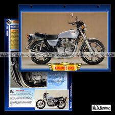 #096.05 Fiche Moto KAWASAKI Z 650 C2 1976-1983 Motorcycle Card