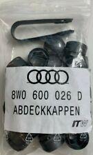Original Audi Abdeckkappen Felgenkappen Radmutter Abdeckung 8W0600026D