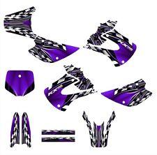 2001 - 2013 KX85 KX100 graphics sticker kit for Kawasaki Dirt Bike #2500 Purple