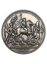 Medaille Bronze L'empereur passe Le Rhin à Mayence Monnaie de Paris