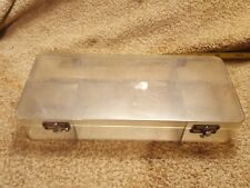 Vintage Dewitt Plastics Auburn Ny Plastic Utility Storage Box 5 Compartments