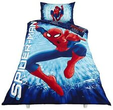 NEW Tesco Spiderman Polycotton Reversible Single Duvet Set