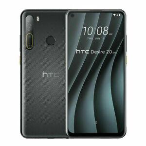 """HTC Desire 20 Pro 128GB 6GB RAM (FACTORY UNLOCKED) 6.5"""" 48MP Black, Blue"""
