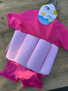 BNWT Mothercare Swimsafe Float Suit 1-2 Years