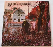 Black Sabbath S/T Self Titled 1970 LP Vinyl NM- NICE Slopping MISPRINT NEL 6002