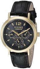 Versus by Versace SOR020015 MANHASSET Chronograph leather band day date Watch