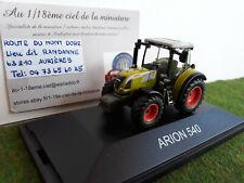 TRACTEUR agricole ARION 540 au 1/87 HO train SCHUCO 25490 miniature d collection