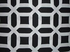 NEW POTTERY BARN BLACK WHITE PEYTON GEOMETRIC TWIN DUVET COVER