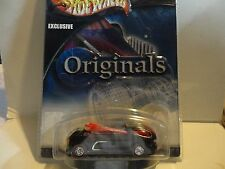 Hot Wheels Originals Black Deora II w/Real Rider Wheels