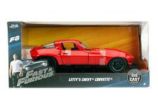 1:24 Jada 98298 Letty´s Chevy Corvette Red  Fast & Furious  Neu & OVP