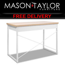 Mason Taylor Computer PC Desk with Drawers MET-DESK-118-OA