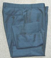 """dark blue marl trousers slim fit BNWOT W.36""""R L.31"""" (No.363)"""