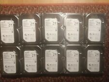 "Lot of 10 Seagate 500GB SATA 7200RPM 3.5"" Hard Drives ST500DM002 (TESTED)"