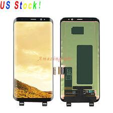 For Samsung Galaxy S8 G950A G950T G950P G950V LCD Screen + Touch Digitizer Black