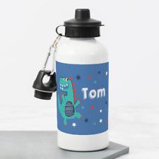 Personalised Different Dino Dinosaurs 400ml Kids Children/'s Water Drinks Bottle