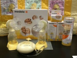Medela Swing Maxi Double Electric Breast Pump, Yellow