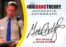 Big Bang Theory  Seasons 6 & 7 AUTOGRAPH CARD MBA2 Matt Battaglia as Officer A