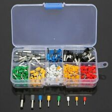 400PCS 22-10AWG Wire Copper Crimp Connector Insulated Cord Pin End Terminal Kit