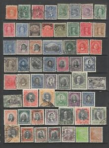 Chile early collection , MH or used , 101 stamps
