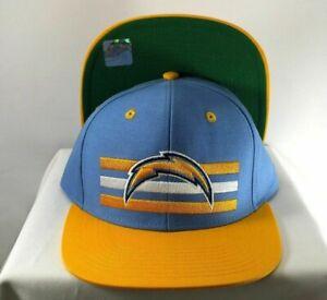 LOS ANGELES CHARGERS SNAPBACK FLAT BILL NFL HAT CAP NEW By Reebok