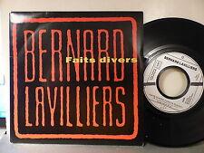 BERNARD LAVILLIERS Faits divers PROMO 1455 MONO FACE