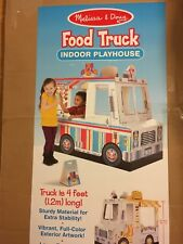 BRAND NEW: Melissa & Doug Food Truck Indoor Playhouse. Children. Kids. Gift. Toy