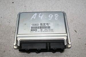 Audi A4 8D5 1.8 92 kW Bj.98 Motorsteuergerät Steuergerät 8D0907558 T 0261204957