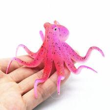 Cup Fish Tank Decoration Fluorescent Artificial Octopus Aquarium Ornament