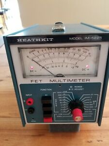 HEATHKIT FET MULTIMETER MODEL IM-5225    AWA SSS# 215
