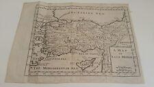 Antique map of Asia Minor